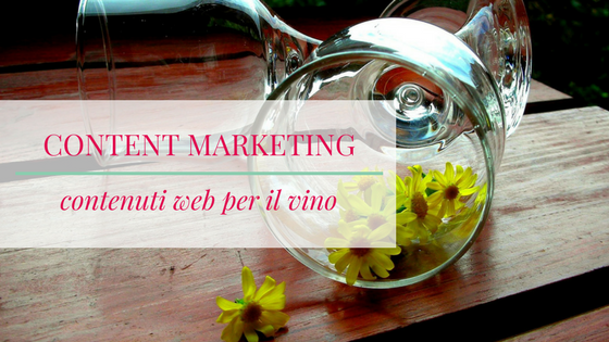 content marketing per il vino